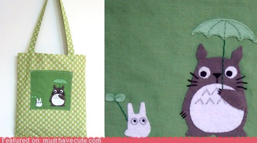 Totoro Shopping Bag