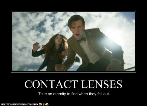 amy pond,contact lenses,doctor who,eternity,fall out,karen gillan,Matt Smith,searching,the doctor