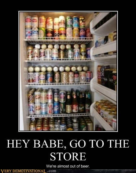 HEY BABE, GO TO THE STORE