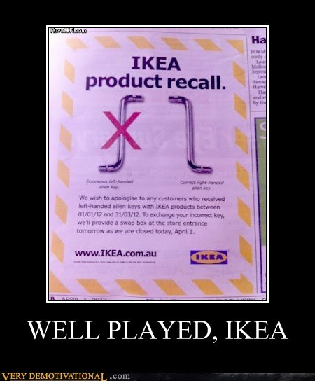 WELL PLAYED, IKEA
