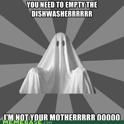 Nagging Roommate Ghost