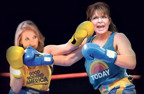 Couric/Palin Faceoff of the Day