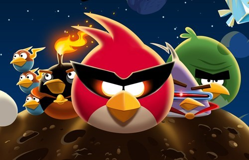Angry Birds Cartoon Announcement of the Day