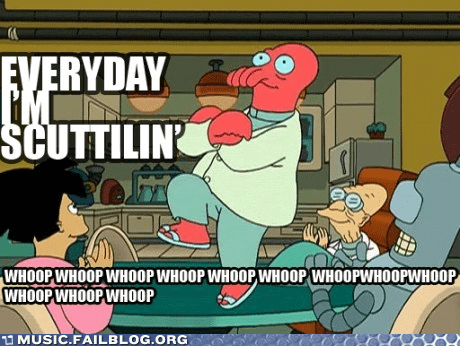 Music FAILS: Zoidberg Rock Anthem