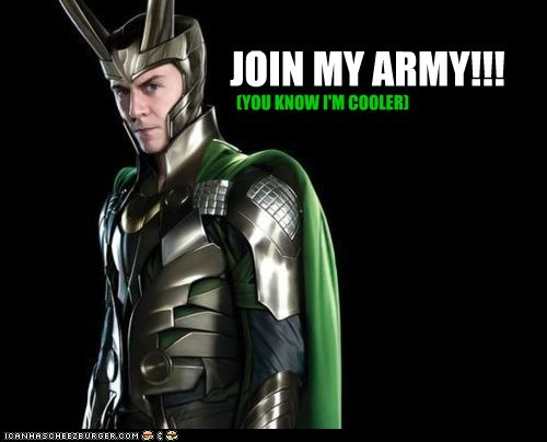 JOIN MY ARMY!!!