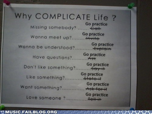 Simplify Your Life, Go Practice