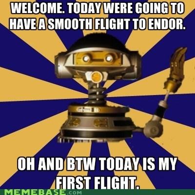 captain rex,endor,flight,Memes,star wars