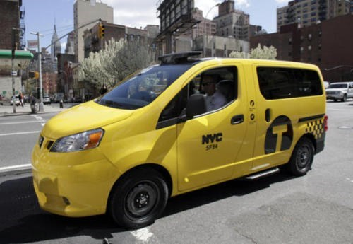 New NYC Taxi of the Day