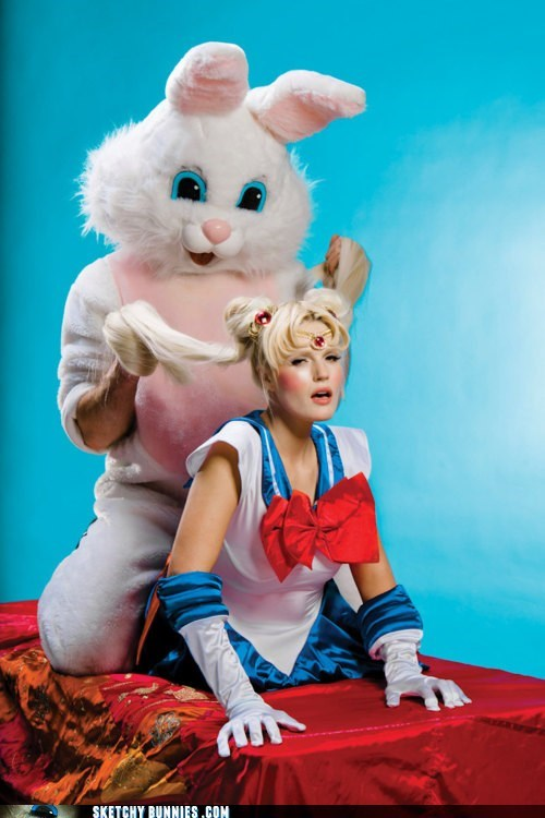 Sailor Moon Is About To Find Out What a Sketchy Easter Vigil Night Is Like