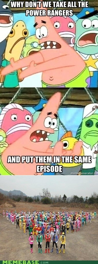 all,episode,kids,power rangers,pushing patrick