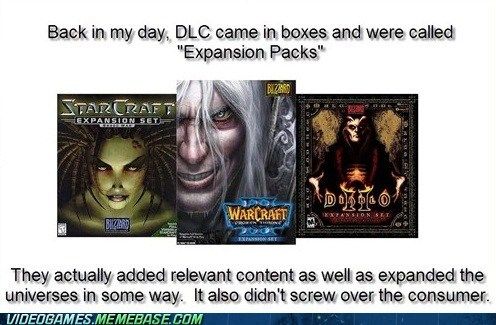 back in my day,bleak,diablo 2,DLC,expansions,PC,starcraft,the feels,Warcraft