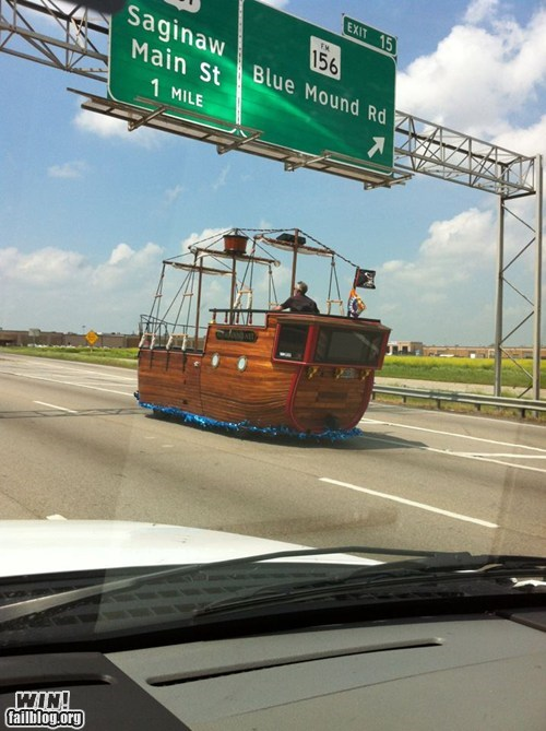 Pirate Car WIN