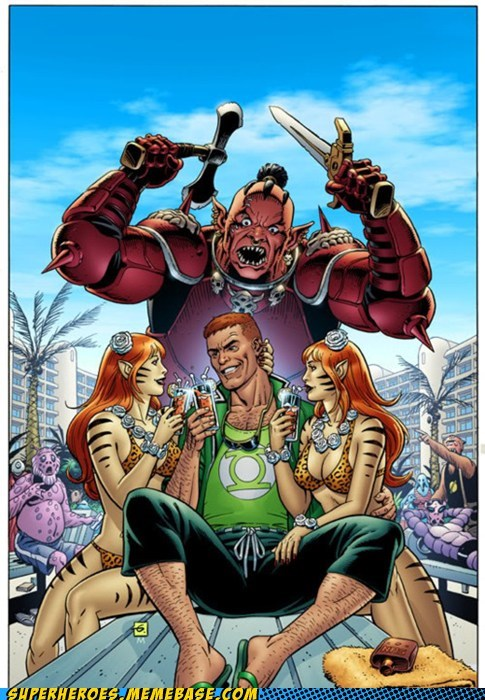 That Guy Gardner Gets All the Ladies
