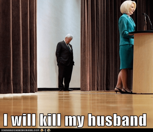 I will kill my husband