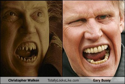 Christopher Walken Totally Looks Like Gary Busey