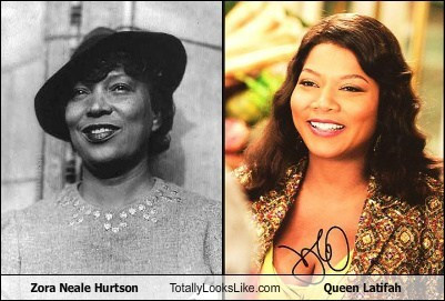 Zora Neale Hurtson Totally Looks Like Queen Latifah