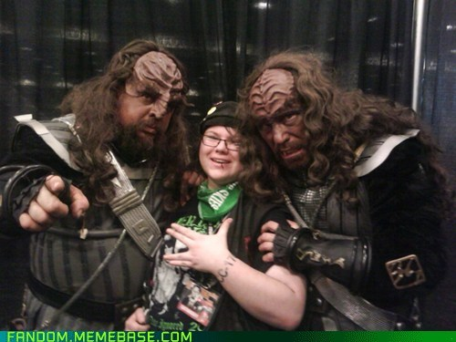 it's not a con without klingons