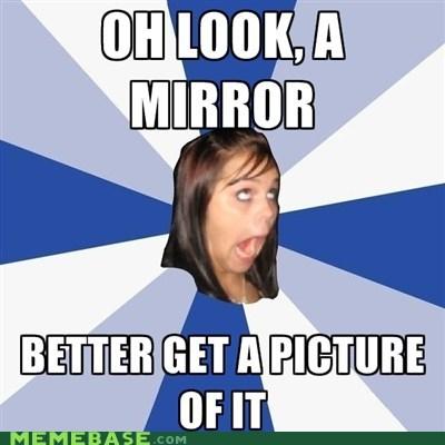 Annoying Childhood Friend,facebook,mirror,picture