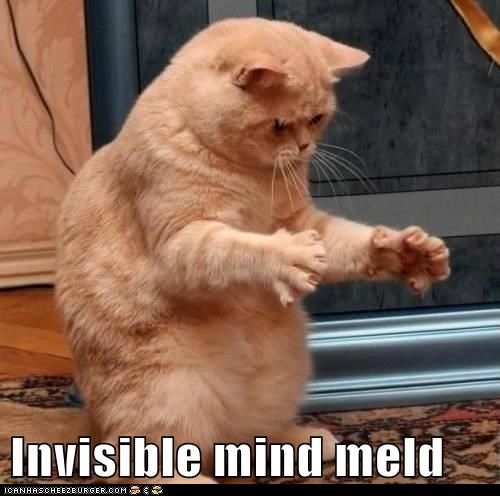 Invisible mind meld