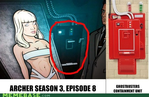 archer,cannot unsee,danger zone,Ghostbusters