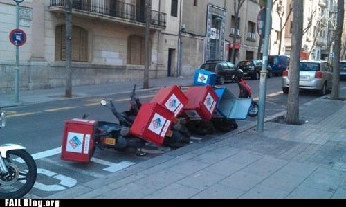 Domino Effect FAIL