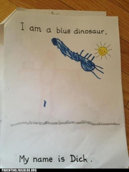 You Were Supposed to Draw an Allosaurus!