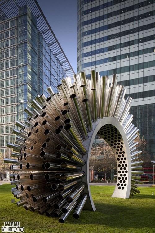 art,chimes,park,sculpture,wind