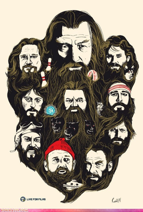 Best Beards in Film