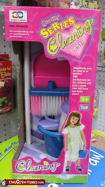 Engrish Funny: What Every Little Girl Needs