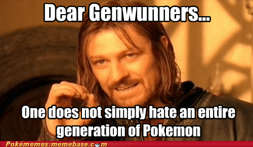 One Does Not Simply Hate a Generation
