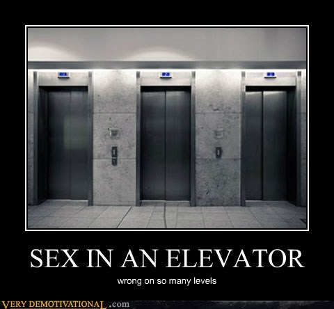 SEX IN AN ELEVATOR