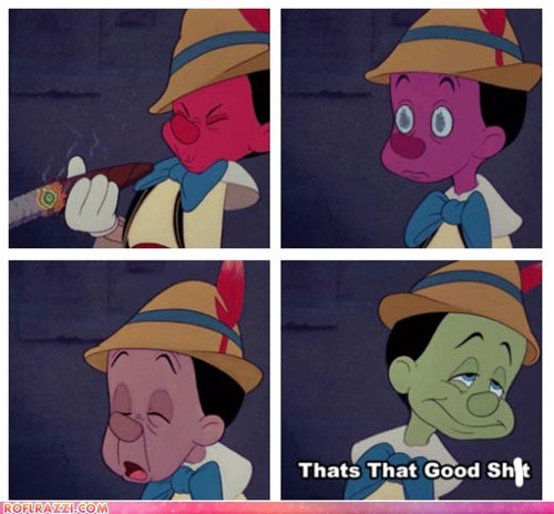 How Pinocchio Became a Real Thug