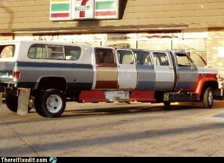 chevrolet,Hall of Fame,hummer,humo,limo,redneck,stretch limo