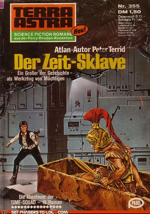 WTF Sci-Fi Book Covers: Der Zeit-Sklave