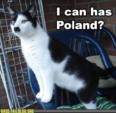 My Bro Abrolf: Yes, You CAN Has Poland, Brocat!