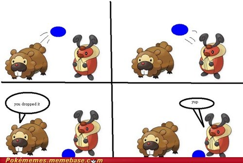 No One Plays With Bidoof