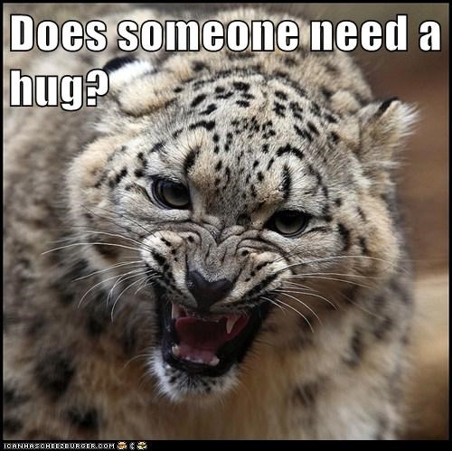 Does someone need a hug?