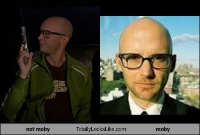 not moby Totally Looks Like moby