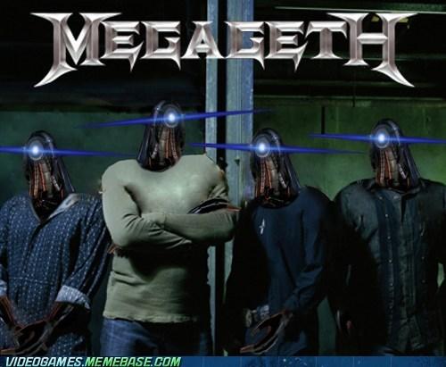 crossover,geth,mass effect,megadeth,Music