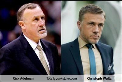 Rick Adelman Totally Looks Like Christoph Waltz