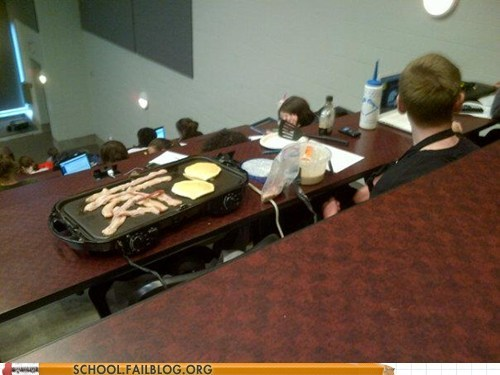 School of Fail: I Woke Up Too Late For Breakfast OK?