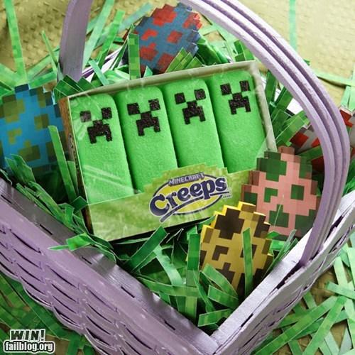 Minecraft Peeps WIN