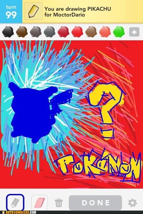 draw-em-all,draw something,pikachu,Pokémon