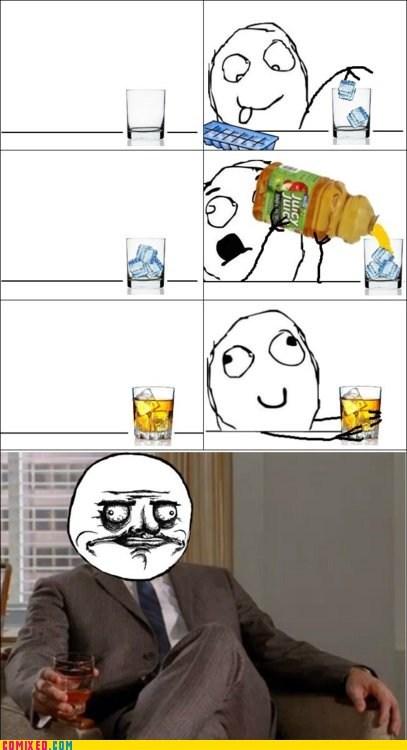 booze,drinking,Jon Hamm,mad men,me gusta,TV