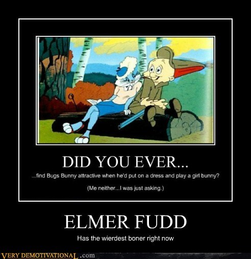 Elmer Fudd Duck Season http://memebase.cheezburger.com/verydemotivational/tag/elmer-fudd