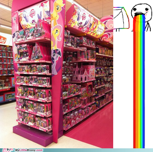 I AM IN BRONY HEAVEN!!1!