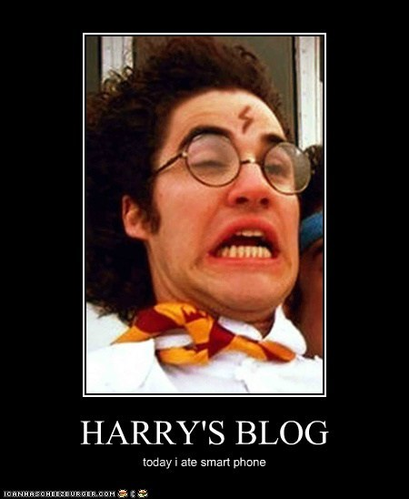 HARRY'S BLOG