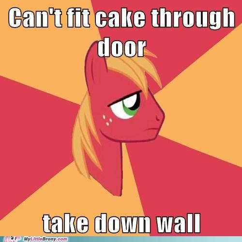 Pinkie's Always Breaking Down Walls