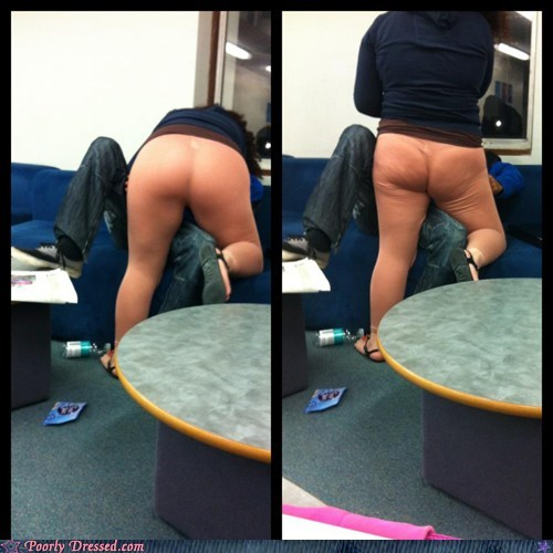Poorly Dressed: Flesh Tones: Still Unacceptable as Yoga Pants