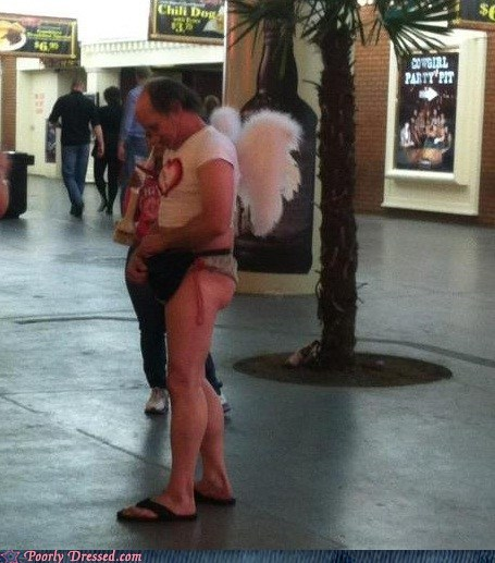 What is Seen in Vegas, Stays on Poorly Dressed